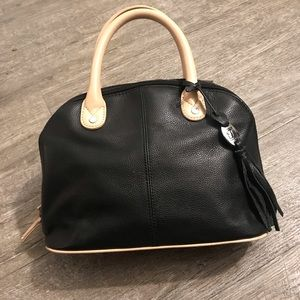 Black Tignanello hand bag!